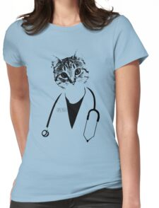 Dr. Cat Womens Fitted T-Shirt