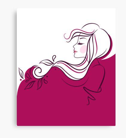 Beautiful woman Canvas Print