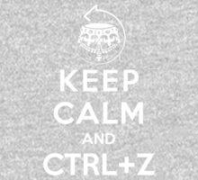 Keep calm and ctrl+z Baby Tee