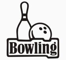 Bowling pin ball One Piece - Short Sleeve