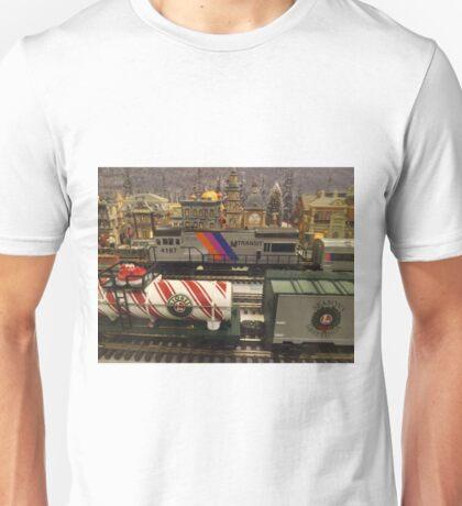 Model Trains, Model Buildings, Reading Terminal Market, Philadelphia, Pennsylvania T-Shirt