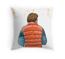 Drive 88 MPH Throw Pillow