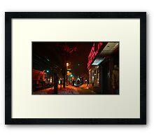 208th st, bronx, 2014-02 Framed Print