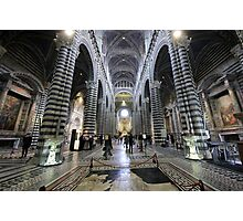 Siena Cathedral Photographic Print