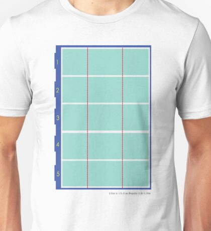 Olympic Swimming Pool Unisex T-Shirt