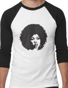 Afro Woman Men's Baseball ¾ T-Shirt