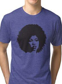 Afro Woman Tri-blend T-Shirt