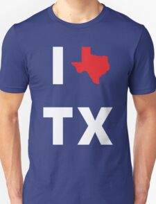 I Love Texas Unisex T-Shirt