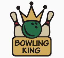 Bowling king by Designzz
