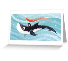 Grandpa Orca Greeting Card