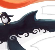Grandpa Orca Sticker
