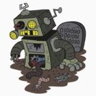 Zombie Robot by bogleech