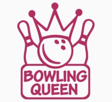 Bowling queen Kids Clothes