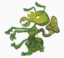 Zombie Ant (Cordyceps) by bogleech