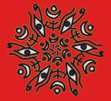 Eye of Horus symmetry Kids Tee