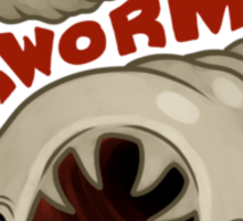 Hookworm Sticker