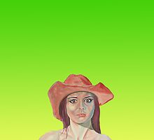 Red hat girl green by precisionts