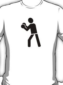 Boxing sports logo T-Shirt