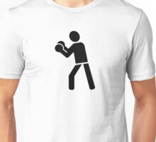 Boxing sports logo Unisex T-Shirt
