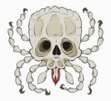 Tick Skull by bogleech