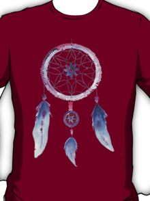 Dreamcatcher Watercolor Illustration T-Shirt