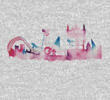 Disney World Hollywood Studios Watercolor Skyline Kids Clothes