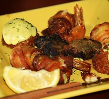Seafood Sampler by Paulette1021