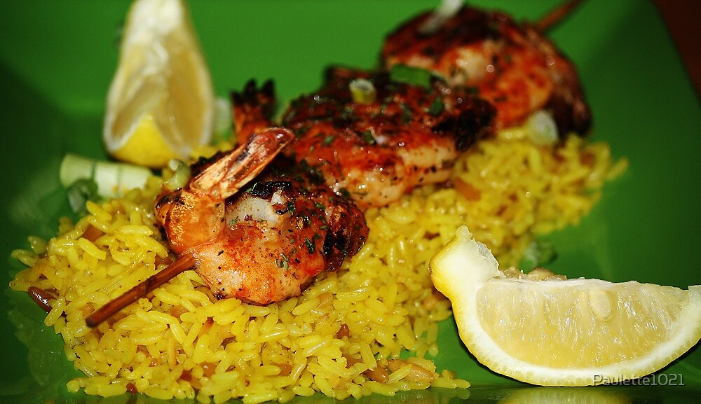 Shrimp and Rice Dinner by Paulette1021