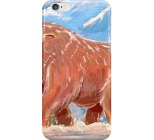 Realistic Mamoswine & Swinub iPhone Case/Skin