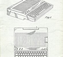 Original Patent for Apple IIe Personal Computer by Edward Fielding