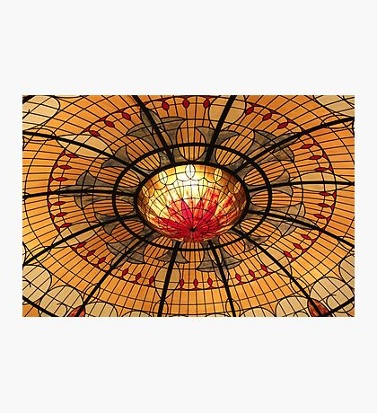Colourful Dome Photographic Print