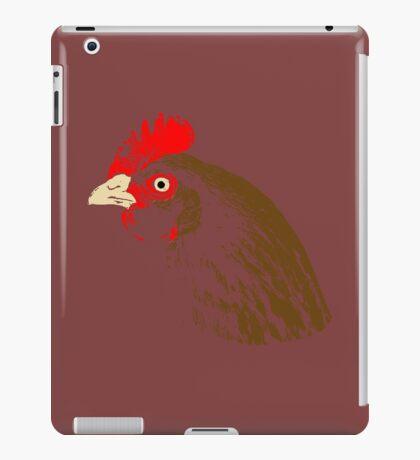 Chicken stamp iPad Case/Skin