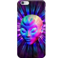 Psychedelic Alien Meditation iPhone Case/Skin