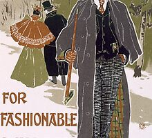 Draft Poster Design for a Winter Clothing Company by Bridgeman Art Library