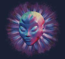 Psychedelic Alien Meditation Kids Clothes