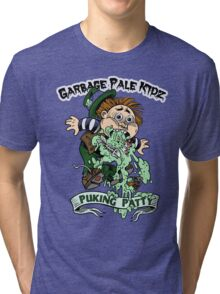 "Garbage Pale Kidz ""Puking Patty"" Tri-blend T-Shirt"