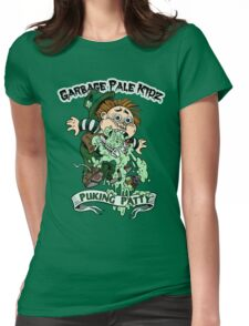 "Garbage Pale Kidz ""Puking Patty"" Womens Fitted T-Shirt"