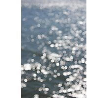 Water Bokeh Photographic Print