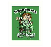 """Garbage Pale Kidz """"Puking Patty"""" Art Print"""