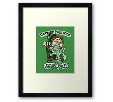 "Garbage Pale Kidz ""Puking Patty"" Framed Print"