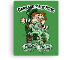 "Garbage Pale Kidz ""Puking Patty"" Canvas Print"