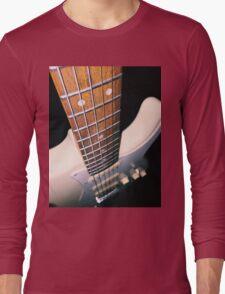 Guitar down the string Long Sleeve T-Shirt