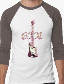 Cool Guitar3 Men's Baseball ¾ T-Shirt