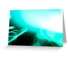 Turquoise Jam Greeting Card