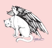 Winged Cat Kids Clothes