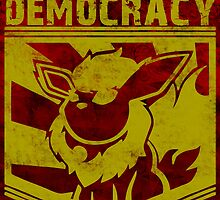 I Will Fight For Democracy by Phox