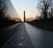 Vietnam Memorial by Sam Morgan