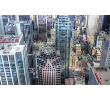 Don't look down! Photographic Print
