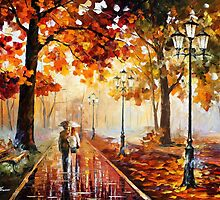 THE STROLL OF INFINITY by Leonid  Afremov
