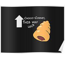 Miscellaneous - choco-cornet - dark Poster